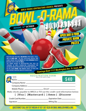 MRCA YCC Bowl-O-Rama Registration