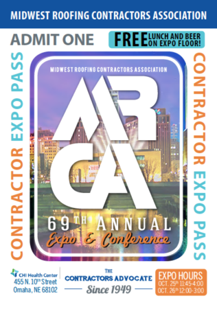 2018 MRCA CON EXPO Free Expo Pass for Contractors