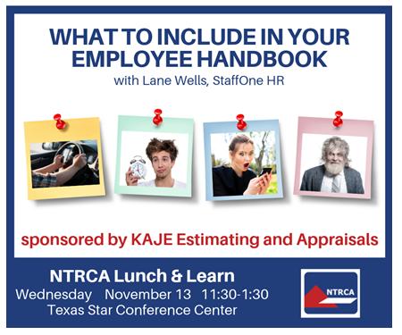 Ntrca Employee Handbook