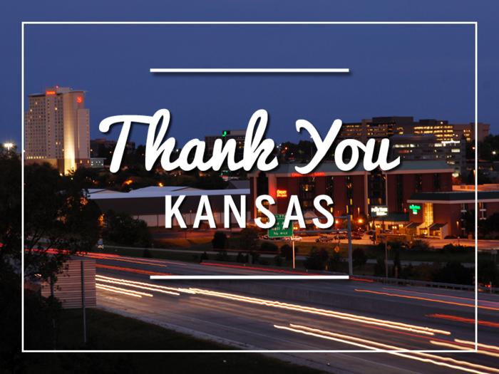Thank you Kansas