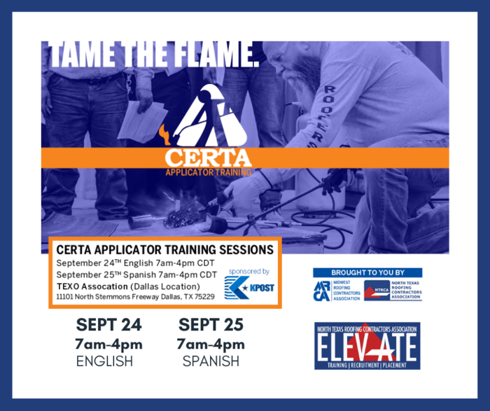 Elevate Certa Training